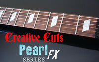 Parallelogram Mop Fret Marker Inlay Decals For Epiphone Dot Or Any Bass & Guitar