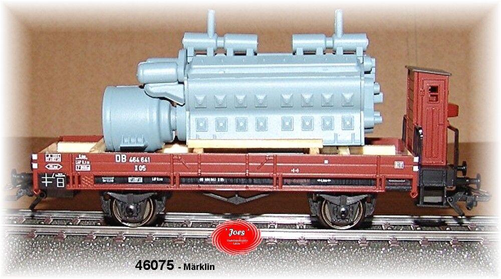 Märklin  46075-  Niederbordwagen (DB).  NEU in OVP   | Spielen Sie das Beste