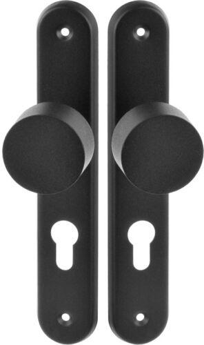1 satz Türklopfer Knöpfe Klinken aus Stahl Abstand=72 Zäune Schmiedeeisen 207.72