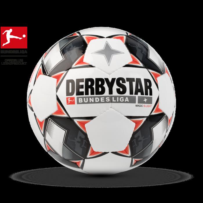 10 Derbystar Jugend Trainings Fußball BUNDESLIGA MAGIC S-LIGHT, Gr. 3