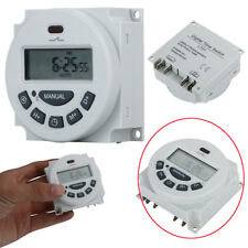 LCD DC12V/AC110V/220V Digital Weekly Programmable Power Timer Time Relay Switch