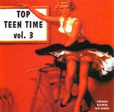 V.A. - TOP TEEN TIME - Volume 3 - 60's Teenage Songs CD