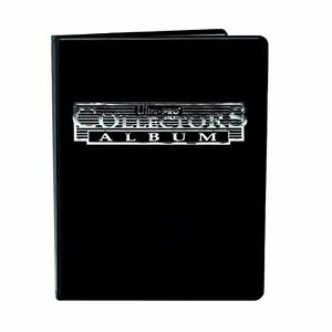 Ultra-Pro-Black-9-Pocket-Collectors-Portfolio-Trading-Card-Album-YuGiOh-Pokemon