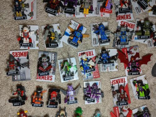toutes les séries! Divers Hasbro Transformers Kreo Kre-O KREONS