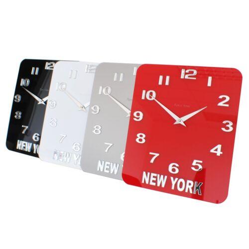 ROCO VERRE Acrylique Brillant Personnalisé Custom Time Zone Monde Horloge Murale