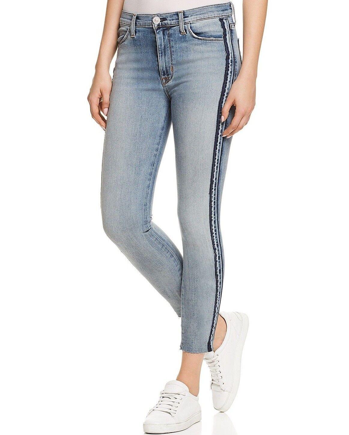 Nwt Hudson Sz27 Custom Barbara Hoher Skinny-Stretch Knöchel Jeans