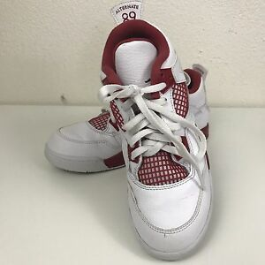 e9ac6b77973b Nike Air Retro Jordan 4 Alternative 89 Iv Size 3y Youth Red And ...