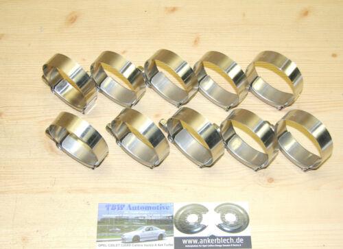 """10x HD-Schelle 54-62 mm **NEU** Schlauchschelle Gelenkbolzenschelle Turbo LLK 2/"""""""