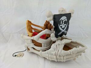 Fisher Price Imaginext Shark Pirates Billy Bones Boat Skeleton Ship Only DHH65 2