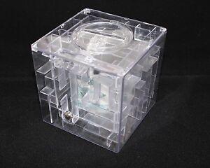 Geocaching-3D-Kugel-Labyrinth-Final-Cache-Versteck-Spardose-IQ-knifflige-Box