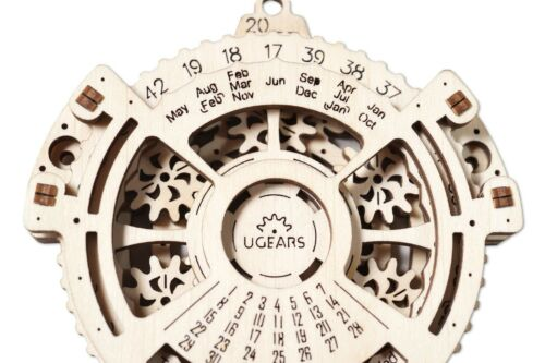 Ugears Date Navigator with drive 3D Puzzle Wooden model