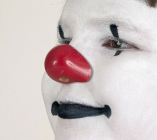 PROFESSIONAL DELUXE PROFACE PROKNOWS CLOWN NOSE RED FOAM CIRCUS COSTUME NOSE