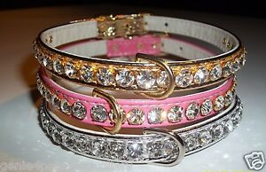 Designer-Rhinestone-Dog-pet-Collars-Extra-Large-Bling-Austrian-Crystal-Jewels