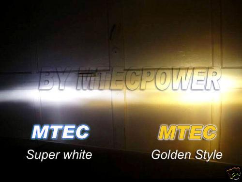 GENUINE MTEC H9 3300K GOLDEN ION YELLOW BULBS