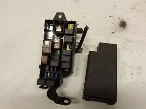 subaru impreza wrx classic fuse box under bonnet ebay rh ebay co uk Subaru Impreza WRX Rally Car Rowen Subaru
