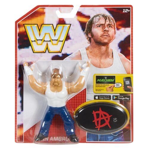WWE Mattel Retro Series 3 WRESTLING-FIGUR AJ Styles Goldberg Seth Rollins WWF