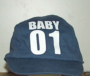 Boys-100-Cotton-Jersey-Base-Ball-Hat-2-4-YEARS-BLUE-NEW
