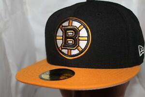 Boston-Bruins-New-Era-NHL-Basic-2-Tone-59fifty-Cap-Hat-Fitted-37-99-NEW