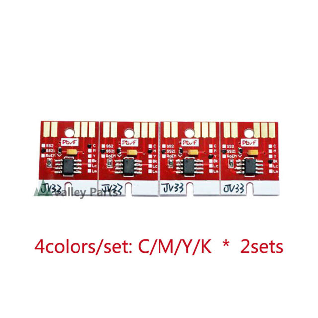 Mimaki chips permanent or auto reset SS21 440m for Color US Seller. White