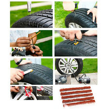 5×Car Auto SUV Tyre Tubeless Seal Strip Plug Tire Puncture Repair Recovery Kit
