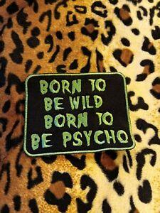 Psychobilly-patch