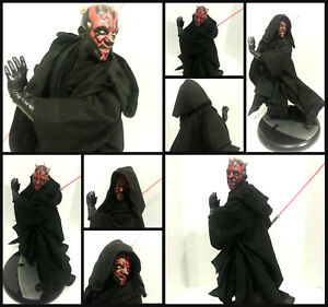 Star-Wars-Custom-Jedi-Robe-ONLY-for-Sideshow-Darth-Maul-1-6-scale-Statue