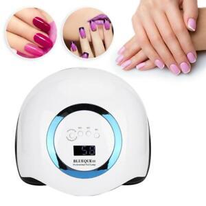 Pro 108W Nail Polish Dryer Lamp LED  Gel Acrylic Curing Light Manicure 4 Timer