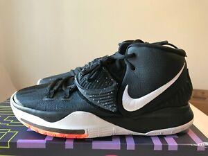 USED Nike Kyrie 6 Black White Jet Black
