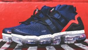 classic fit 9d7ef a3edf Details about Nike Air Vapormax Flyknit Utility College Navy Size 8  RARE!!!!!