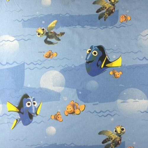 "Disney Findng Dory Novelty Designer Fabric 100/% Cotton Kids Children 55/"" Wide"