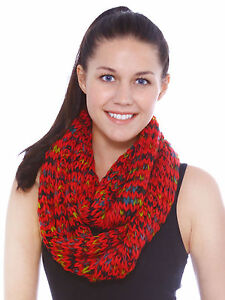 New-Soft-Winter-Women-Girls-Knit-Infinity-Neck-Warmer-Circle-Cable-Scarf-Scarves