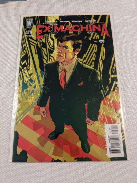 Ex Machina (Wildstorm Comics, 2004 series) #20 July