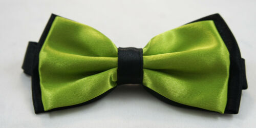 Boys Kids Children Toddler Wedding Suit Party Tuxedo Bowtie Pre-Tied Bow USA OS