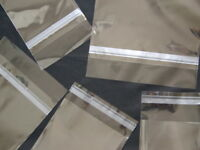1000 8x10 1.5 Mil Self Seal Lip & Tape Clear Poly Bags Polypropylene on sale