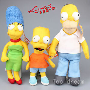 The Simpsons Homer J Simpson Marge Bart Simpson Soft