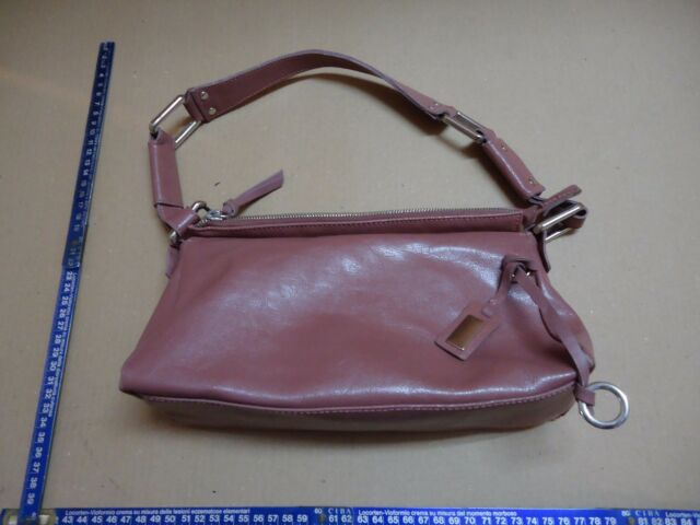 borsa rosa donna shopping piccola vera pelle pink Women's genuine leather italy