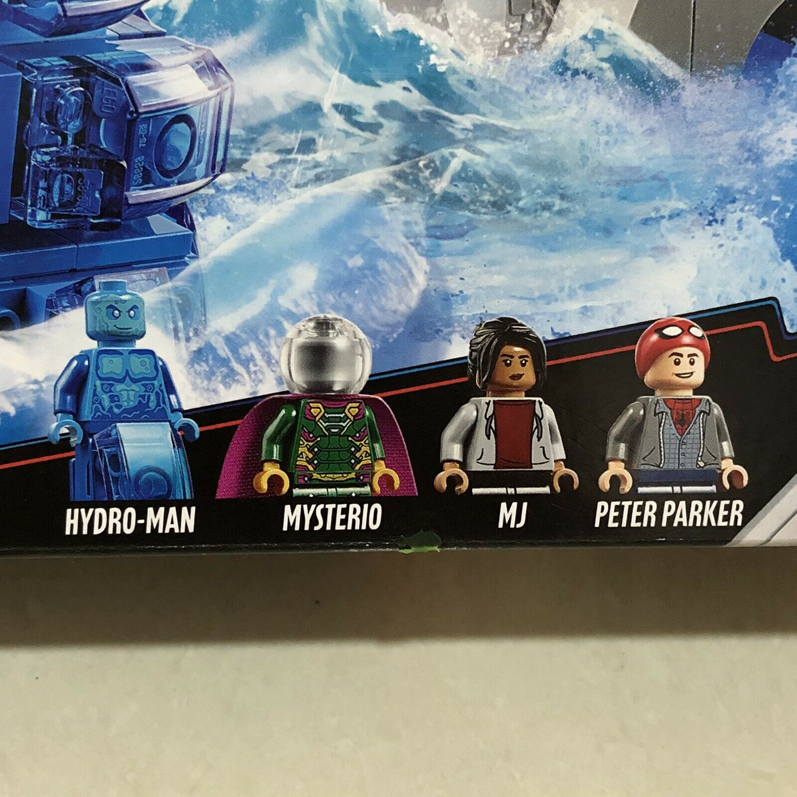 LEGO 76129 Spider-Man Far From Home Hydro-Man Minifigure NEW