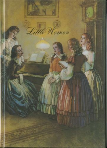 Illustrated Junior Library Little Women By Louisa May Alcott 1947