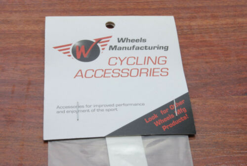 Wheels Manufacturing Clear Bicycle Frame Chainstay Protector w// Prep Pad