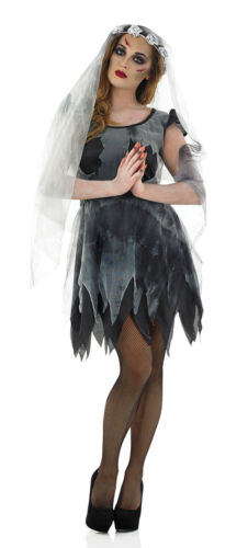 New And Sealed S L Corpse Bride Costume Halloween Fancy Dress