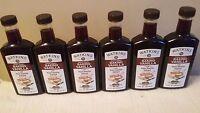 6 - Jr Watkins Double Strength Baking Vanilla 11 Oz With Pure Vanilla Extract