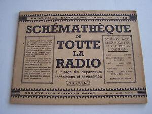 Schematheque De Toute La Radio , Schemas Recepteurs Pour Depanneurs .eo N°10 Fv6q8jak-08000024-836310493