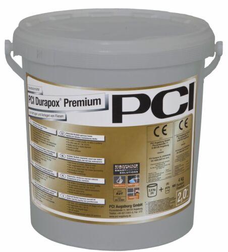 PCI Durapox Premium 2 KG Gris-Sable Mortier à Joint pour Carrelage Et en Grès