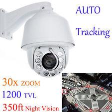 Auto Tracking 960P 30x Zoom 1200TVL PTZ High Speed CCTV Security DOME Camera
