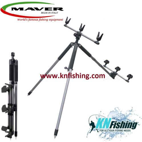 MAVER /'/'INVICIBLE/'/' Tripod For 3 Rods Surfcasting Heavy Casting Strong