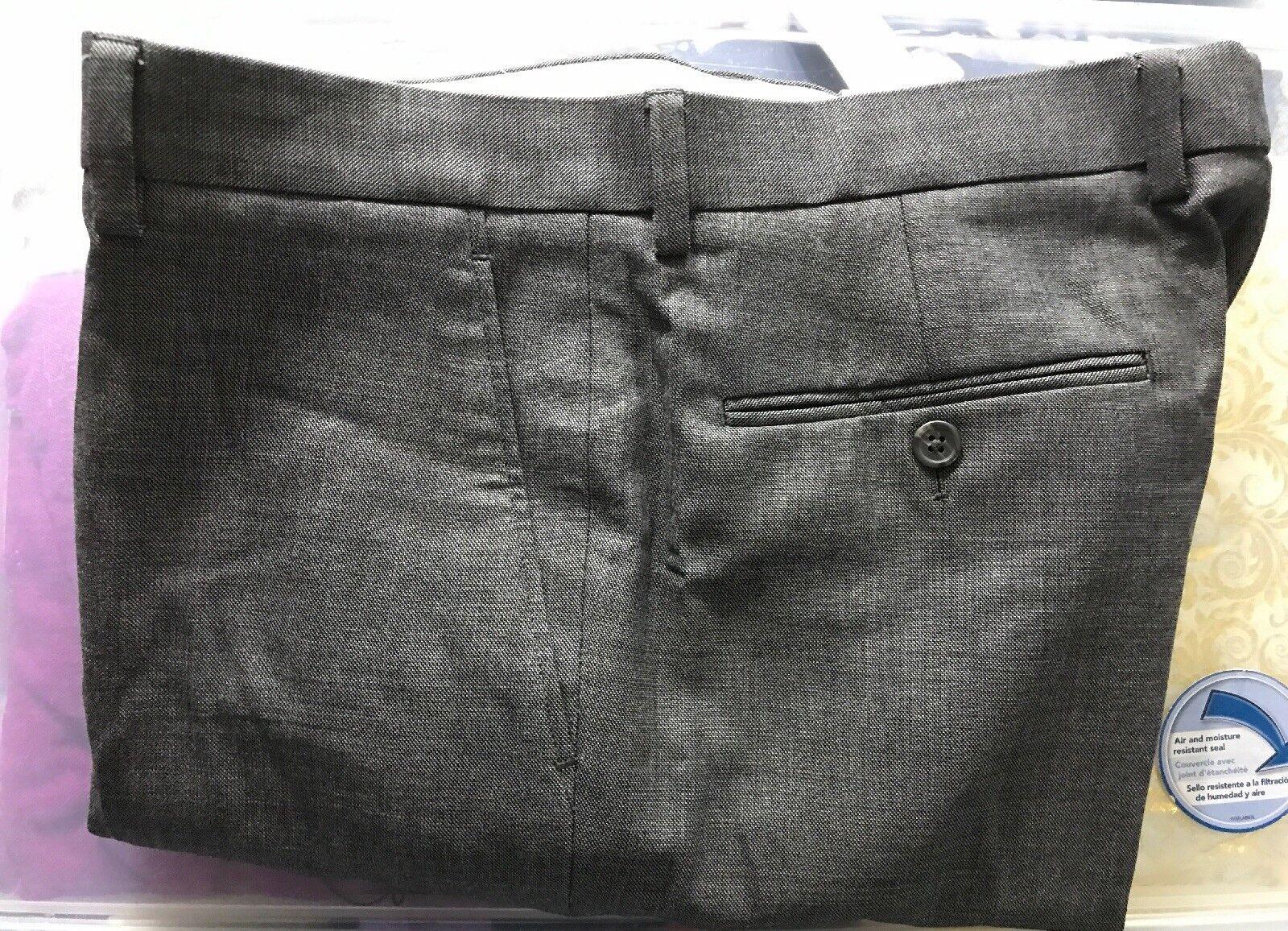 NWT J.crew Men's Bowery Classic Trousers Pants Wool 32X32