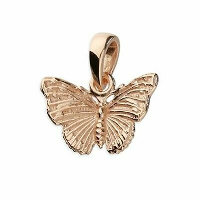 Sterling Silver Pendant Gold-Plated Mini Butterfly
