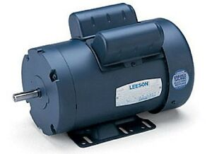 Leeson electric motor c6k17db51a 3 4 hp 1800 for 1800 rpm electric motor