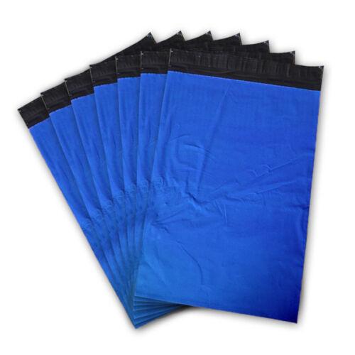 """19 X 29/"""" pulgadas de Poly Correo Envío Postal Calidad fuerte sello del uno mismo Bolsas Azul"""