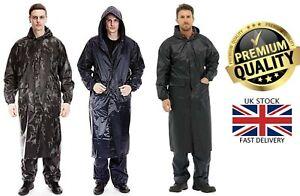Nuevo-Para-hombres-Arctic-Storm-100-Impermeable-Costuras-Selladas-Largo-Lluvia-Chaqueta-Abrigo
